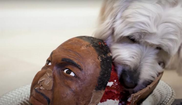 Як брутальний Тайсон і його собака з'їли…