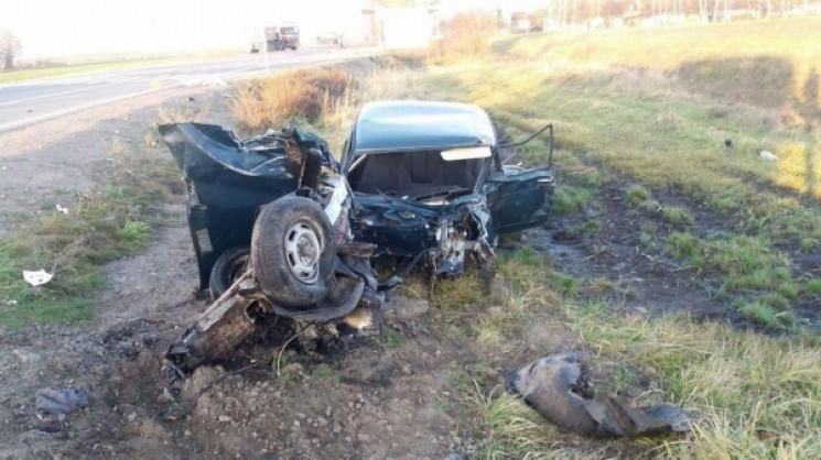 На Рівненщині у ДТП розбилася сім'я свящ…