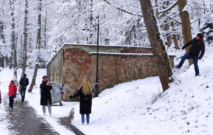 Як Трускавець засипало снігом (ФОТО, ВІД…