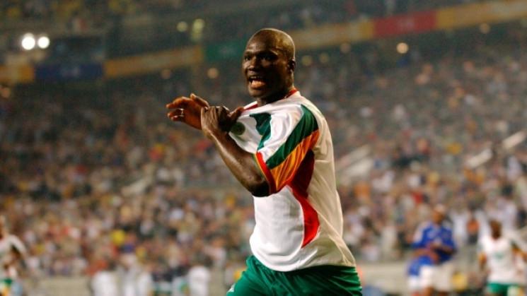 Легендарний футболіст збірної Сенегала п…