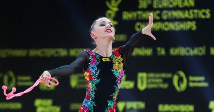 Львівська гімнастка у складі національно…