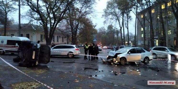 В Николаеве в результате ДТП один из авт…