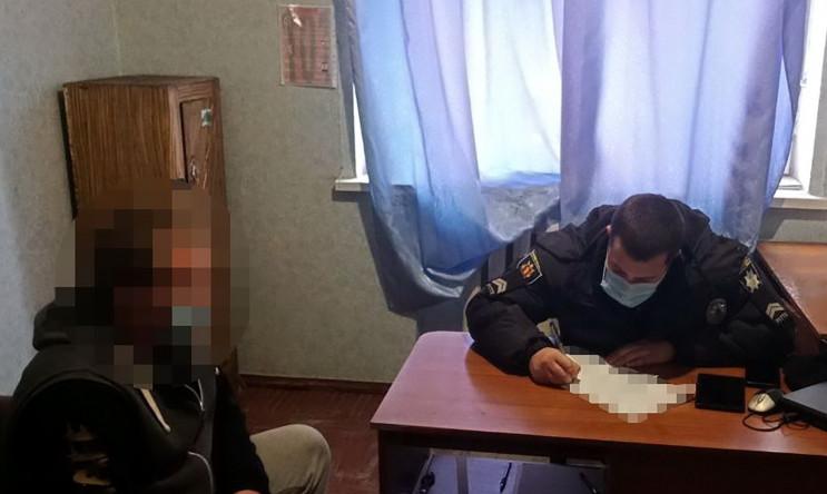 В Запорожской области нелегальный торгов…