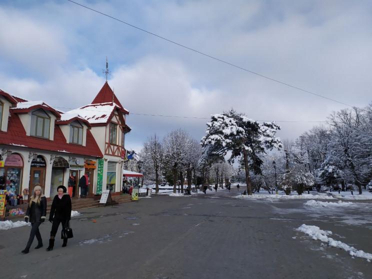 Як у Трускавці триває казкова зима (ФОТО…
