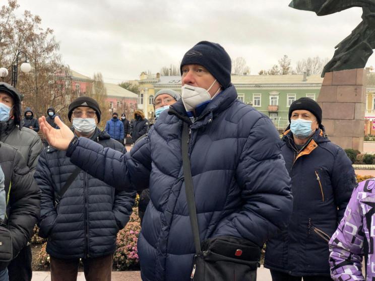 В Бердянске предприниматели митинговали…