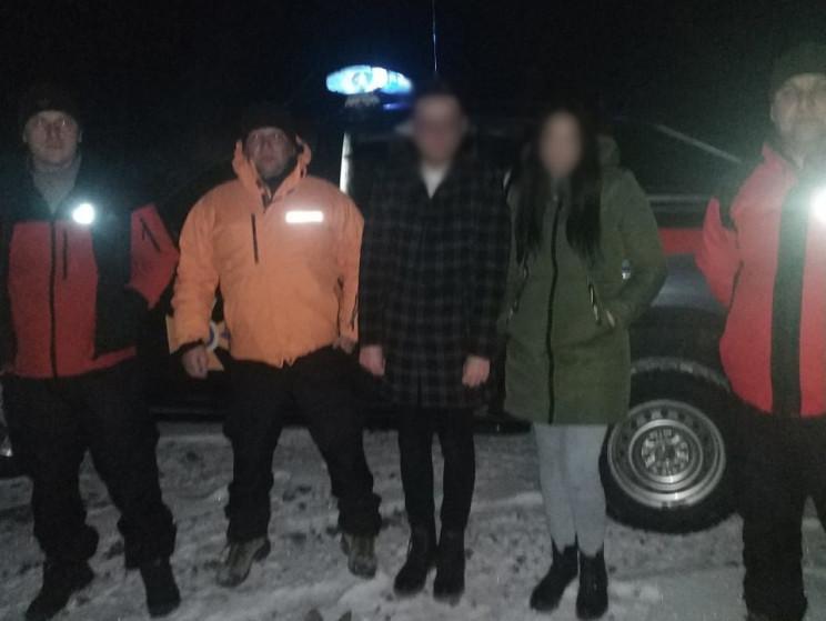 У Сколівському районі хлопець з дівчиною…