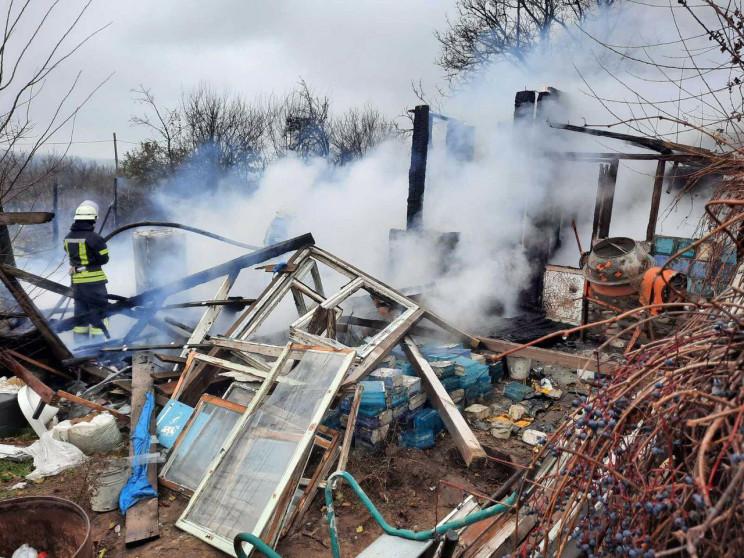 У передмісті Запоріжжя сталася пожежа у…