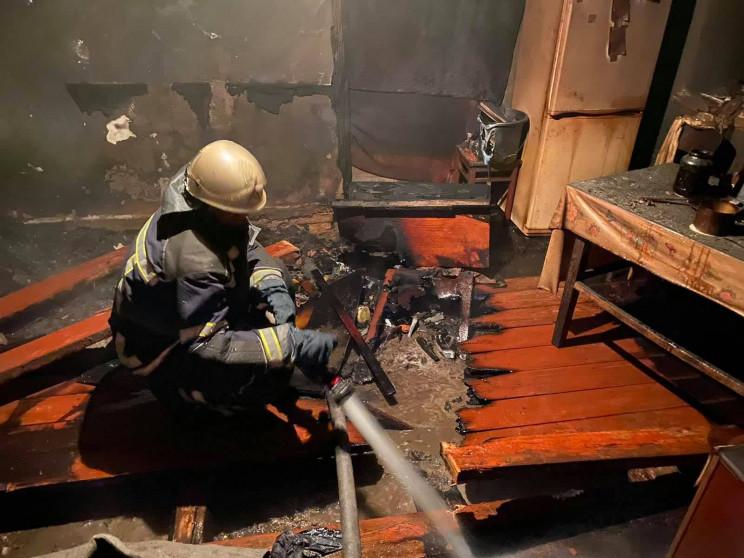 У Погребищенському районі пожежа забрала…