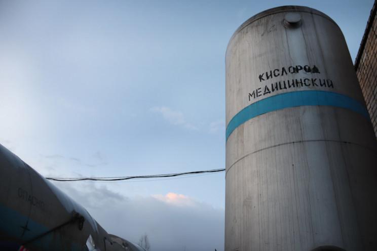 В Херсоне строят два двадцатитонных хран…
