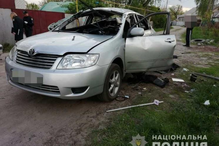 В Харькове подозреваемый в подрыве такси…