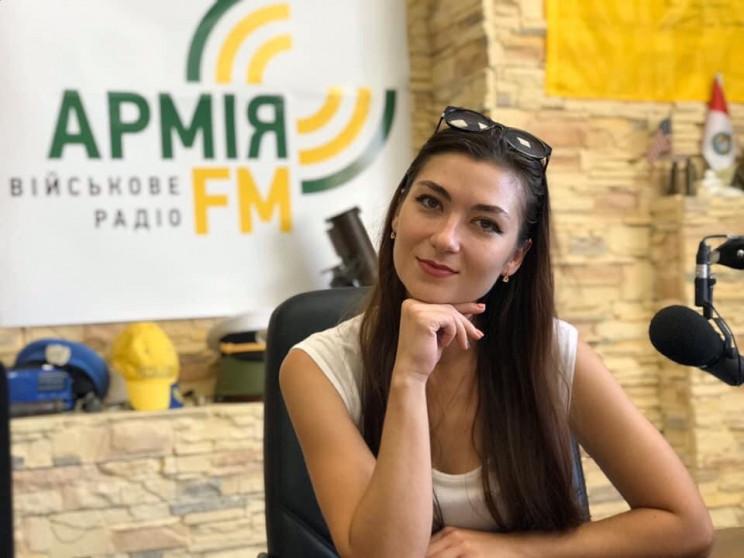 "Шефредакторка ""Армія FM"" Ірина Сампан: П…"