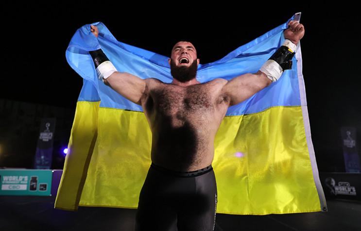 Найсильніша людина планети Олексій Новік…