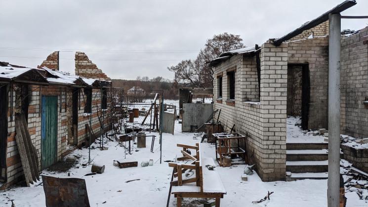Лесные пожары на Харьковщине: Погорельца…