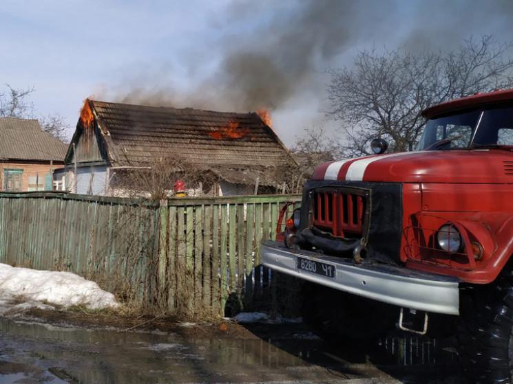 На Полтавщині бійці ДСНС більше двох год…