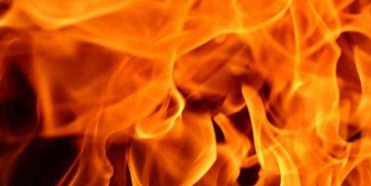 На Рахівщині сталася масштабна пожежа у виробничому цеху