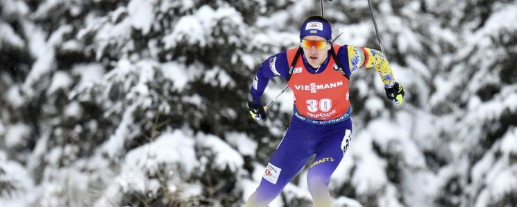 Українські біатлоністи біжать змішану ес…