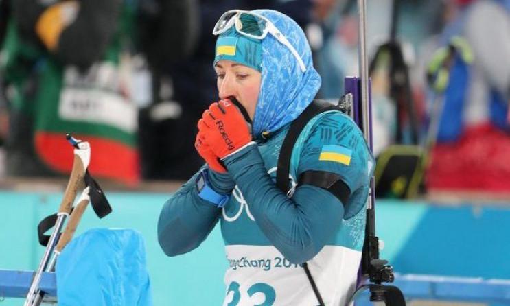Українські біатлоністи біжать змішану од…