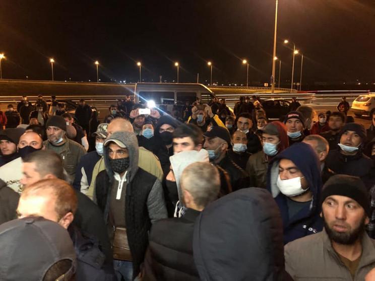 Затримання кримських татар на Керченсько…