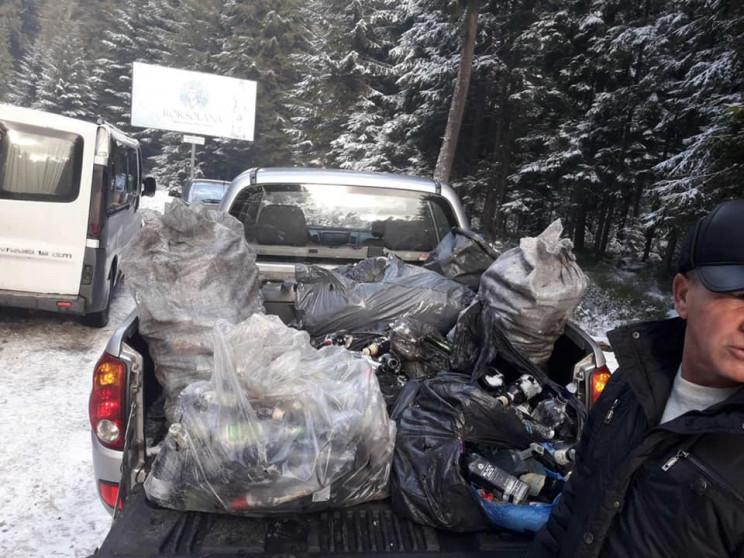 Природоохоронці зібрали купи сміття в ур…