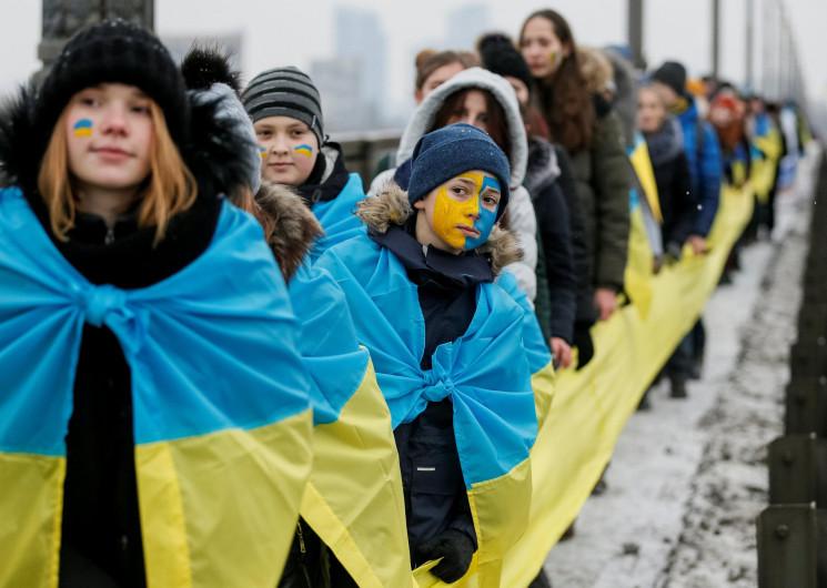 В Одесі ланцюг єднання на День Соборност…