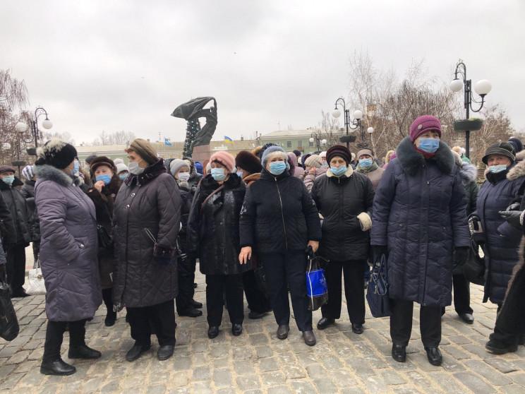 У Бердянську провели акцію протеста чере…