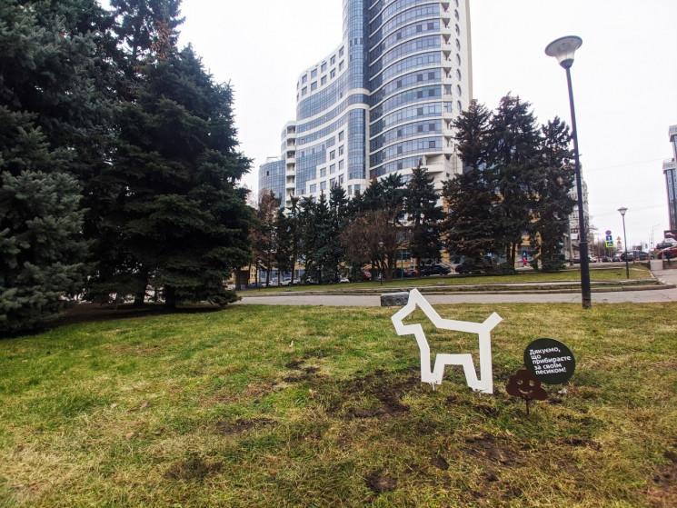 У центрі Дніпра встановили фігурки собак…