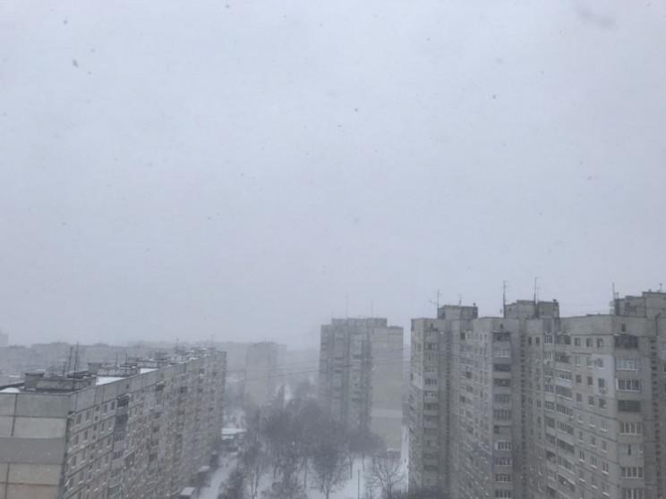 На Харківщині через негоду сталися аварі…