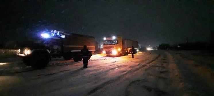 На Херсонщині у снігову пастку потрапили…