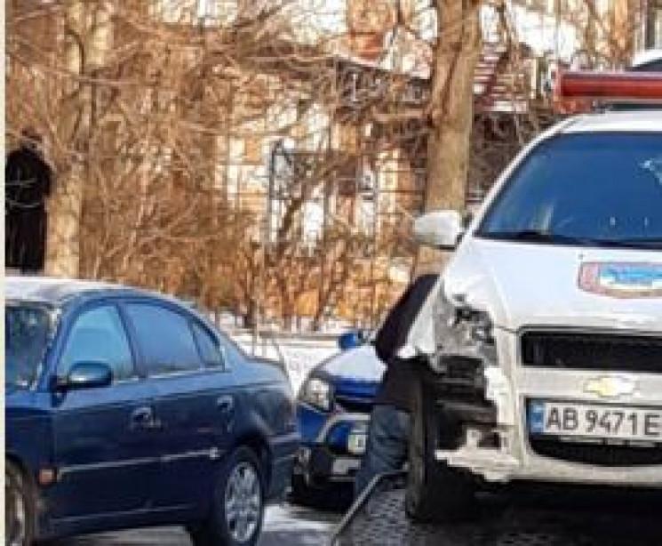 У Вінниці в ДТП потрапив автомобіль охор…