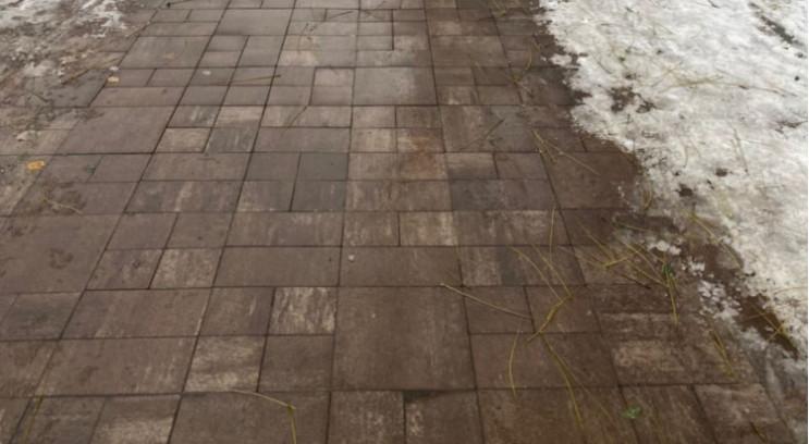 У Києві з'явилися тротуари з підігрівом…