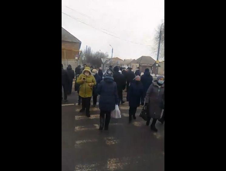 У Запорізькій області протестуючі перекр…