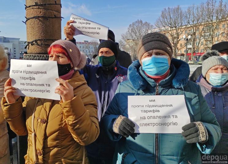 Херсонці протестували проти нових тарифі…