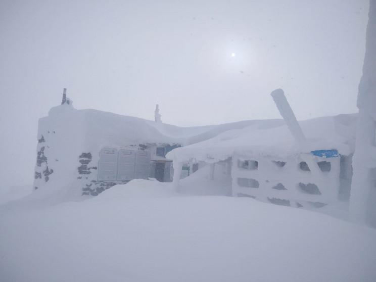 Карпатську гору Піп Іван замітає снігом…