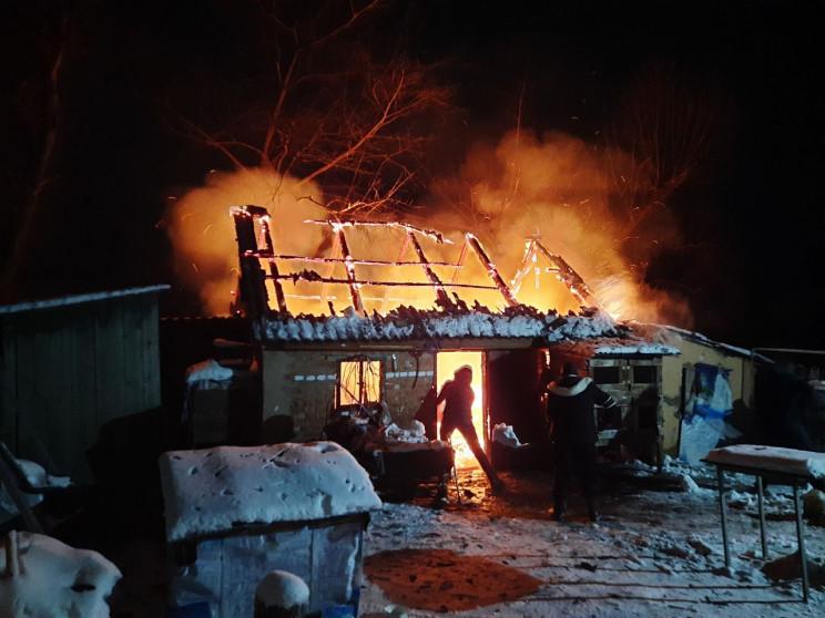 Харківські вогнеборці ліквідували пожежу…