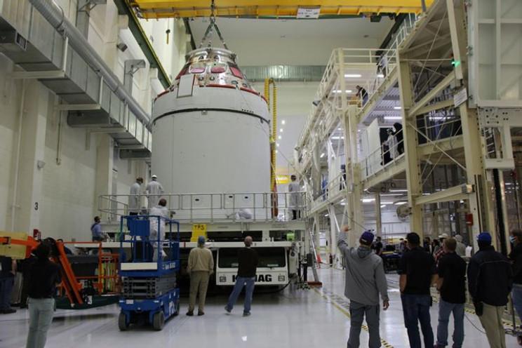 Корабель Orion готовий до місячної місії…
