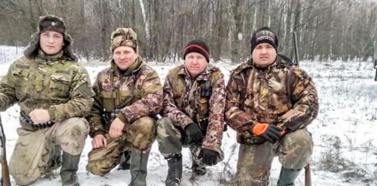 В Запорожской области охотники расстреля…