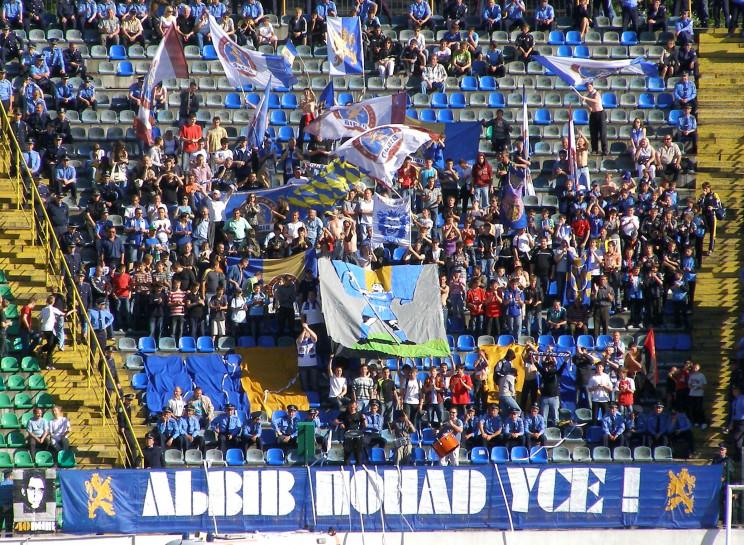 Львівський футбольний клуб виніс на голо…