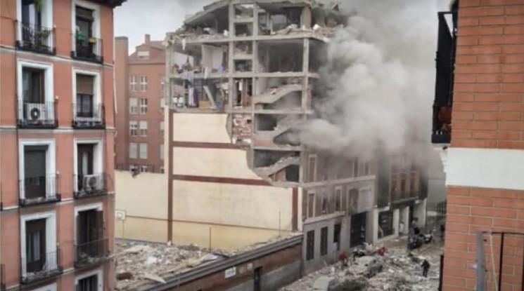 У Мадриді стався сильний вибух…