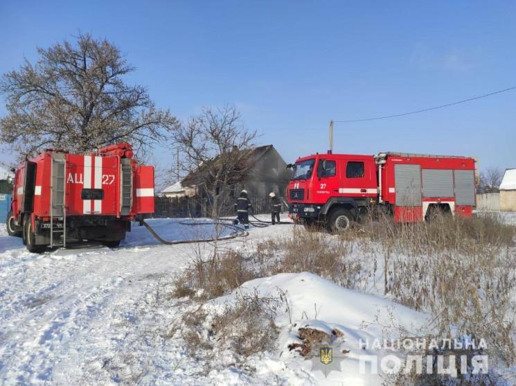 На Дніпропетровщині у вогні загинула мал…