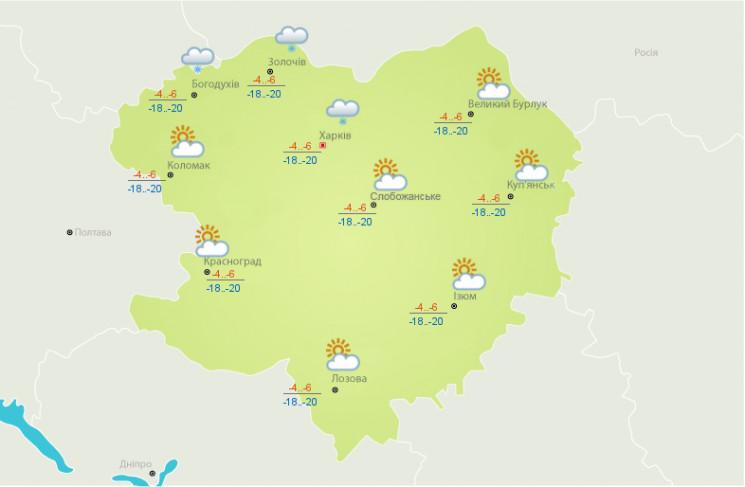 На Харківщині посилиться вітер і спадуть…
