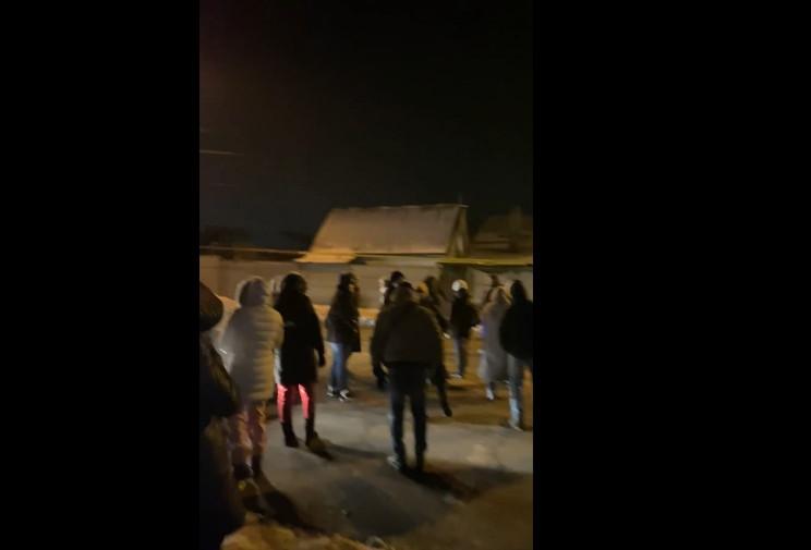 В Запорожье протестовали из-за отключени…