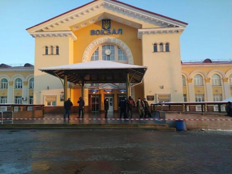 У Вінниці евакуювали людей із залізнично…