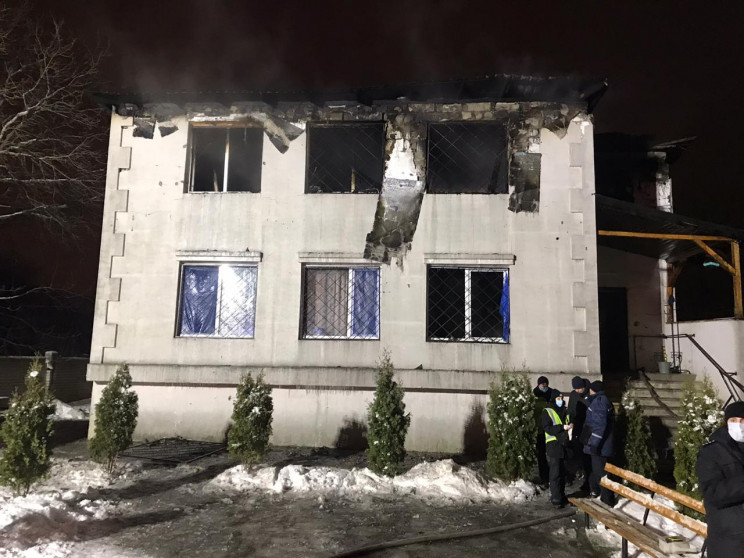 Пожежа в будинку для літніх людей у Харк…