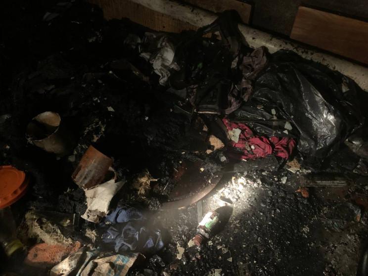Під Харковом у вогні загинув чоловік…