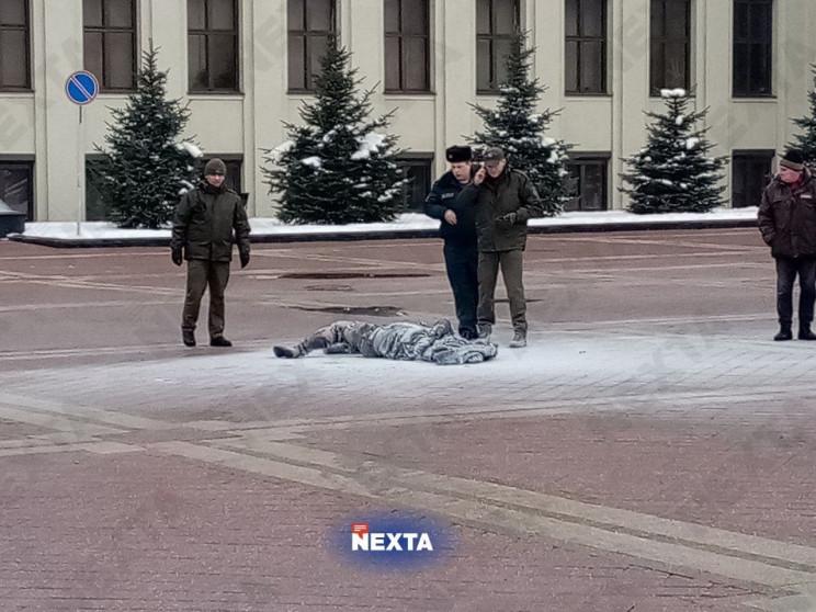 В центре Минска мужчина совершил самопод…