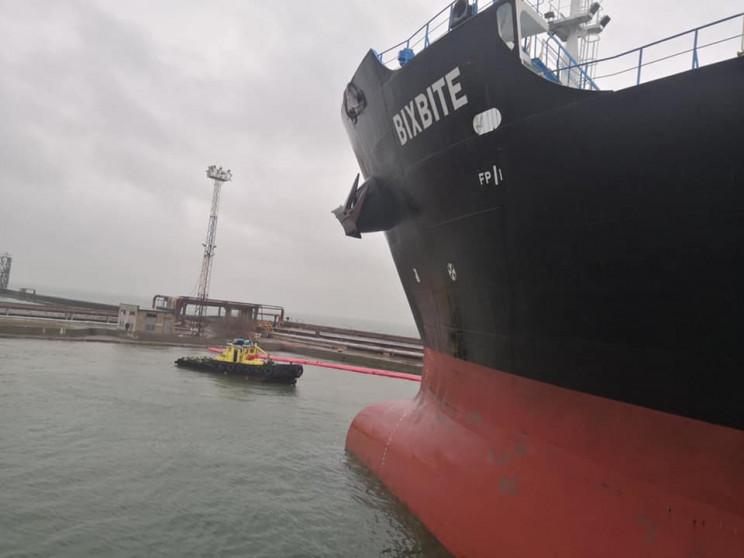 Одеський морський порт вперше за рік про…