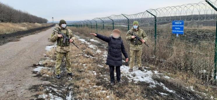 На Харьковщине женщина попыталась незако…