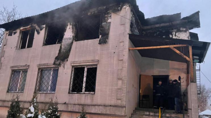 Пожежа в приватному хоспісі у Харкові: У…