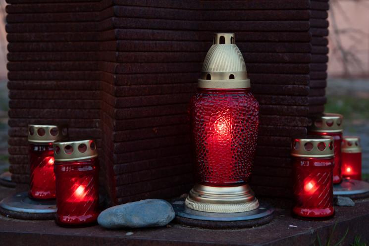В Ужгороді засвітили свічки з нагоди Дня…