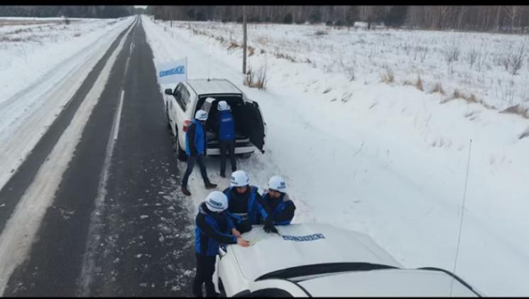 ОБСЕ зафиксировала боевиков на участках…